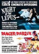 B-movie Events this September