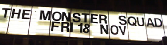 Come one, come all to see 'The Monster Squad' at the Prince Charles Cinema
