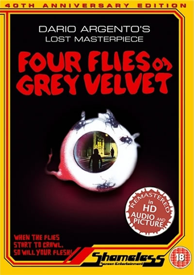 Win Four Flies On Grey Velvet from Shameless Screen entertainment