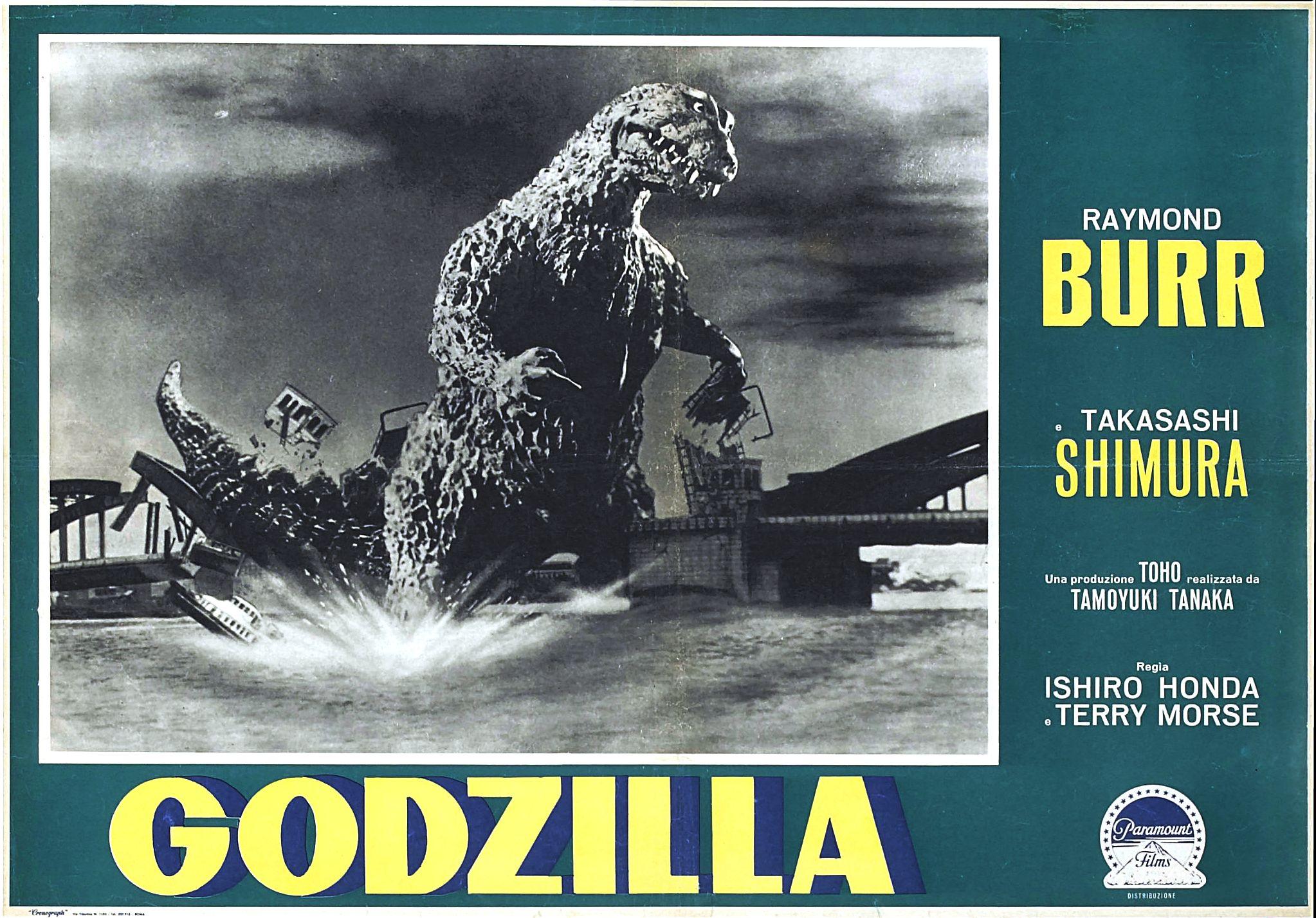 Godzilla (1954) Theatrical Poster