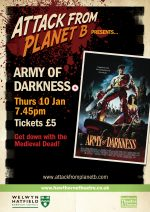 Attack From Planet B Presents … Army Of Darkness