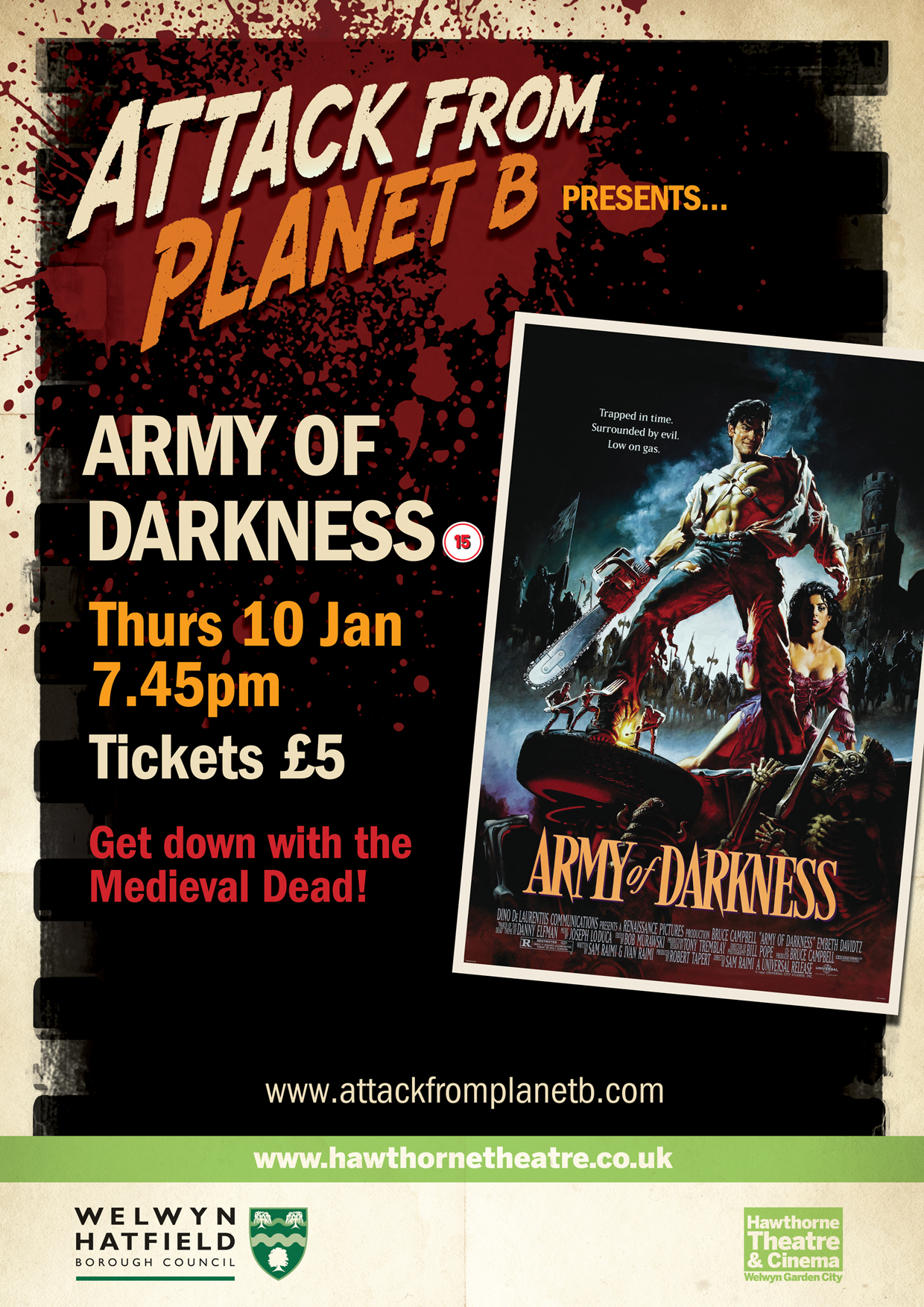 Attack From Planet B Presents ... Army Of Darkness