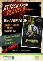 Attack From Planet B Presents … Re-Animator