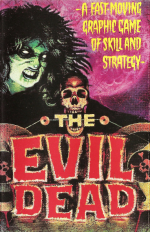 The Evil Dead (1984) Commodore 64 Cover