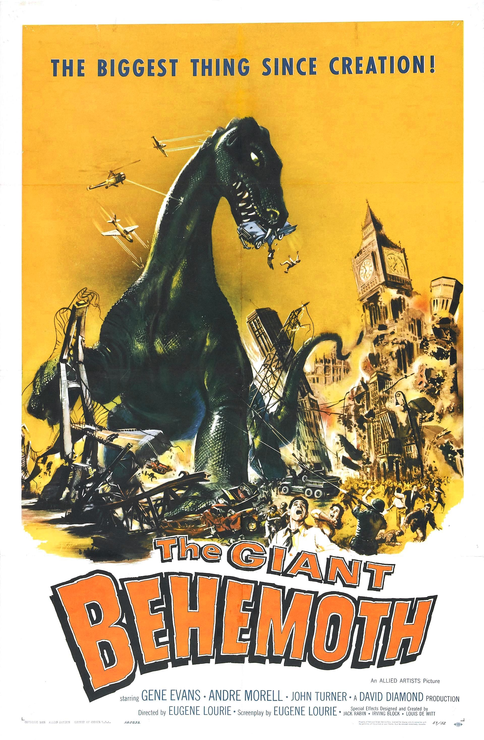 The Giant Behemoth (1959, UK / USA)