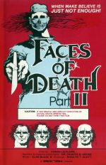 Faces of Death II (1981) VHS Cover