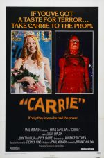Carrie (1976) Theatrical Poster