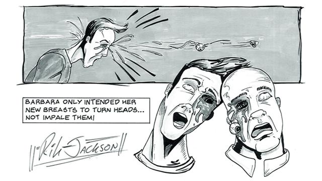Brutal Bombshells by Rik Jackson and Craig Jex