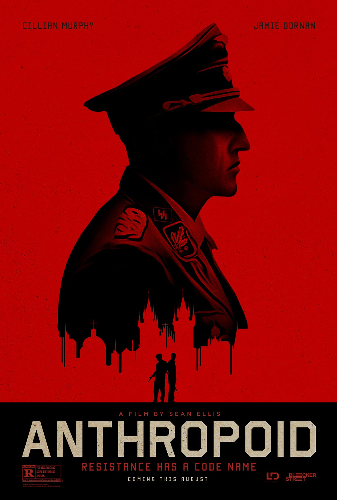 Anthropoid (2016) Theatrical Poster