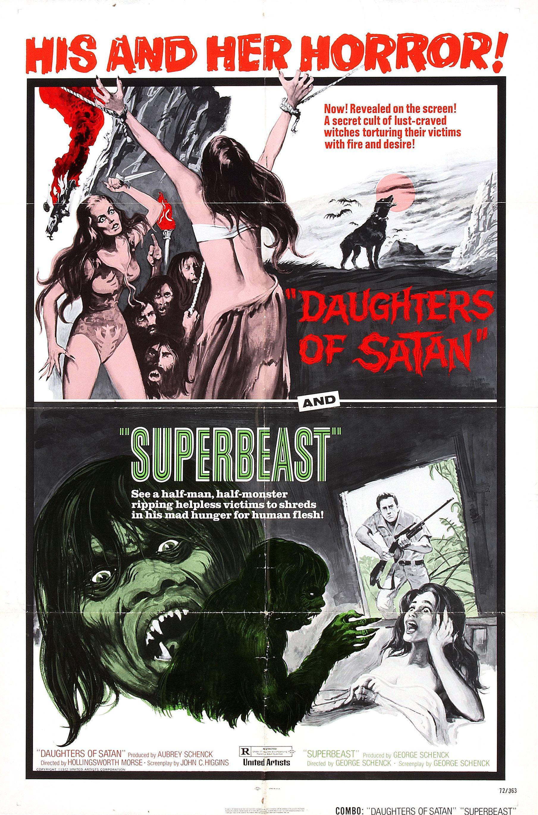 Daughters of Satan (1972) / Superbeast (1972)