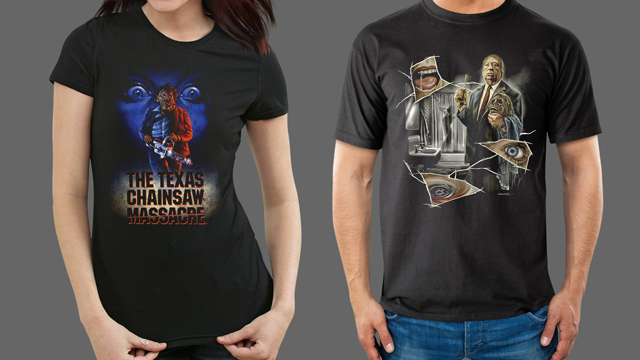 Fright-Rags The Texas Chainsaw Massacre Video Series / Alfred Hitchcock Collection