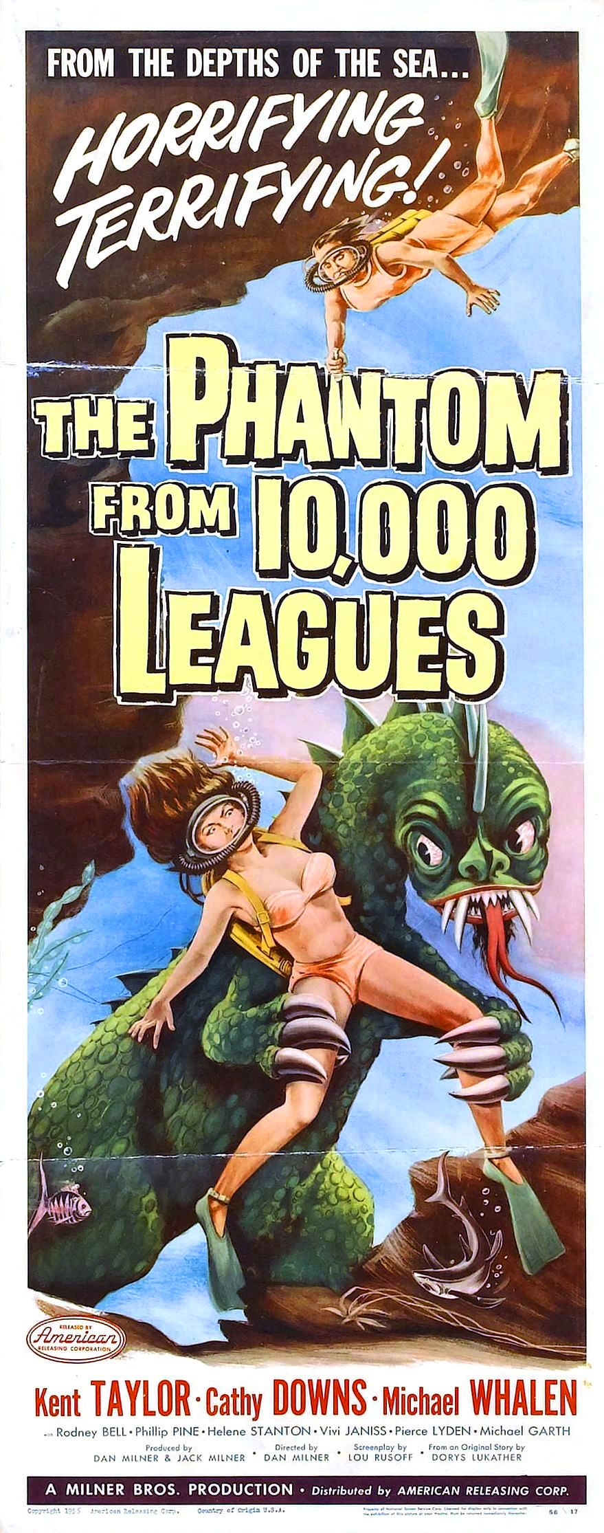 Phantom From 10,000 Leagues (1956)