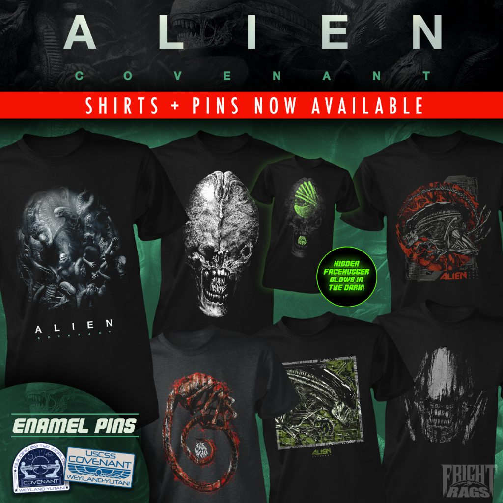 Fright-Rags' Alien: Covenant Collection
