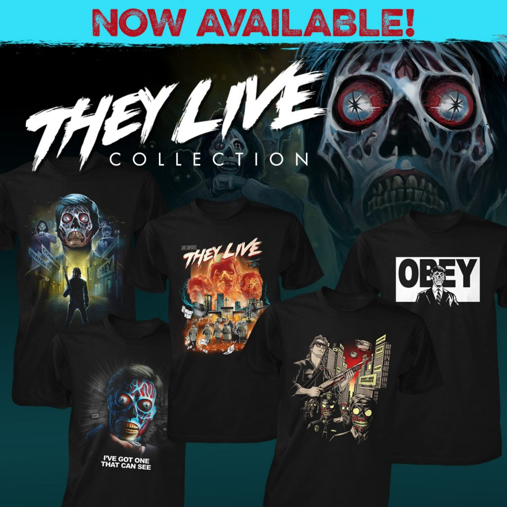 Fright-Rags' They Live Collection