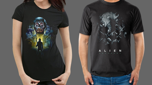 Alien: Covenant + They Live Fright-Rags Apparel