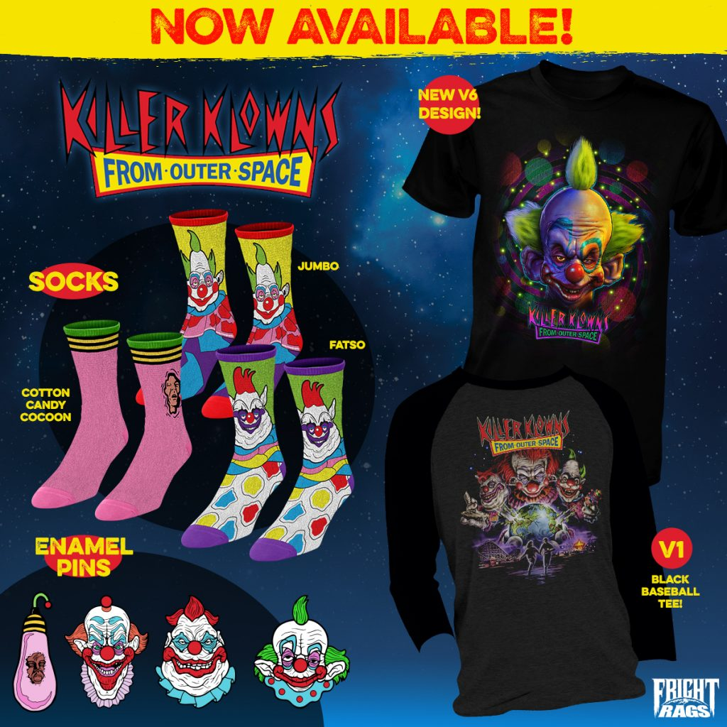 Fright-Rags' Killer Klowns from Outer Space Collections