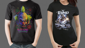 John Carpenter's THE THING and KILLER KLOWNS FROM OUTER SPACE Merchandise from Fright-Rags