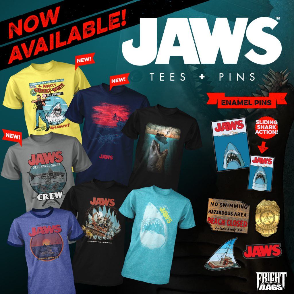 Fright-Rags Jaws Collection