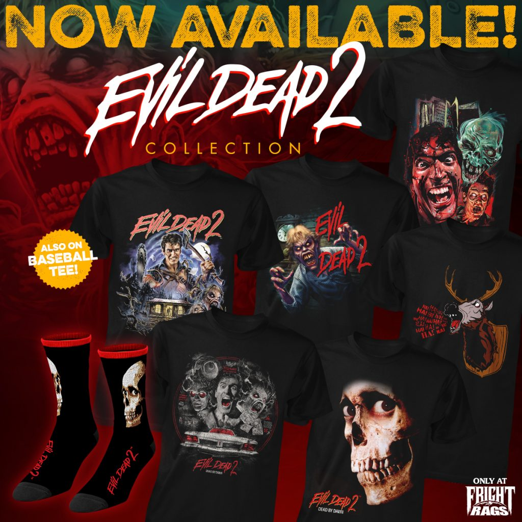 Fright-Rags' Evil Dead 2 Collection