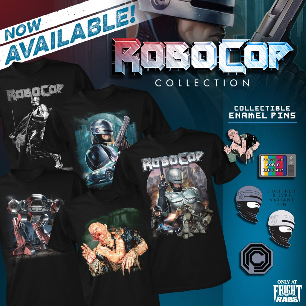 Fright-Rags' RoboCop Collection