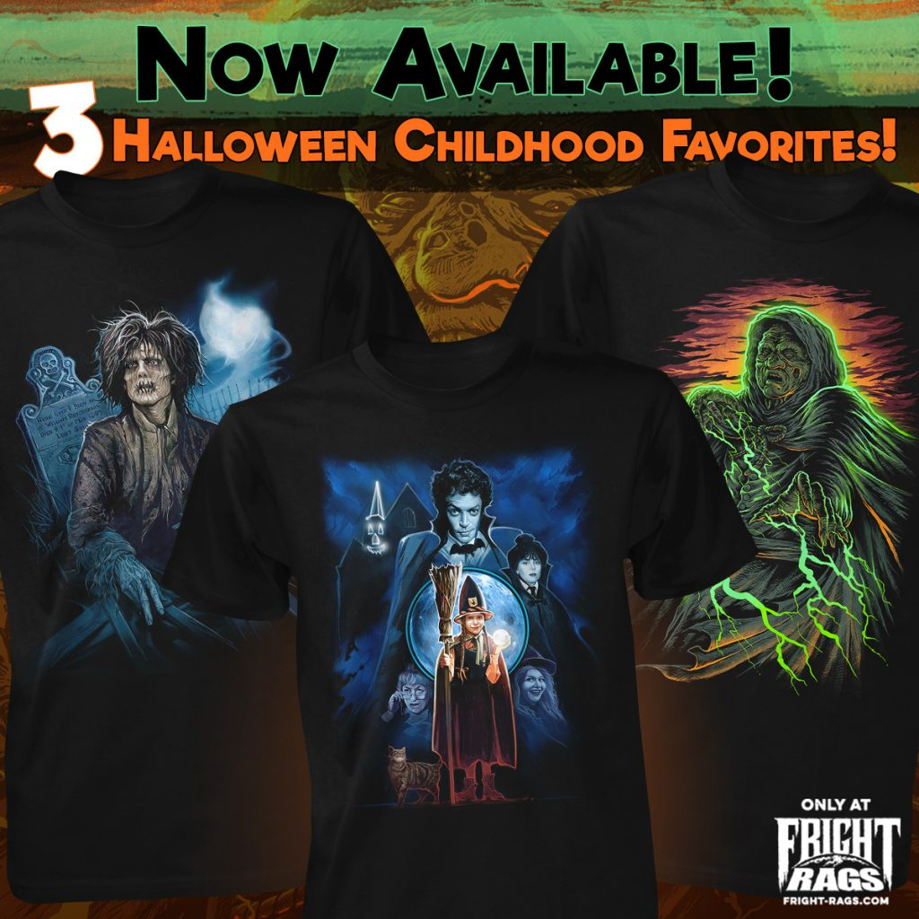 Childhood Halloween Favorites from Fright-Rags