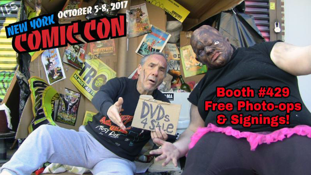 Lloyd Kaufman Takes a Knee at New York Comic Con 2017...Literally!