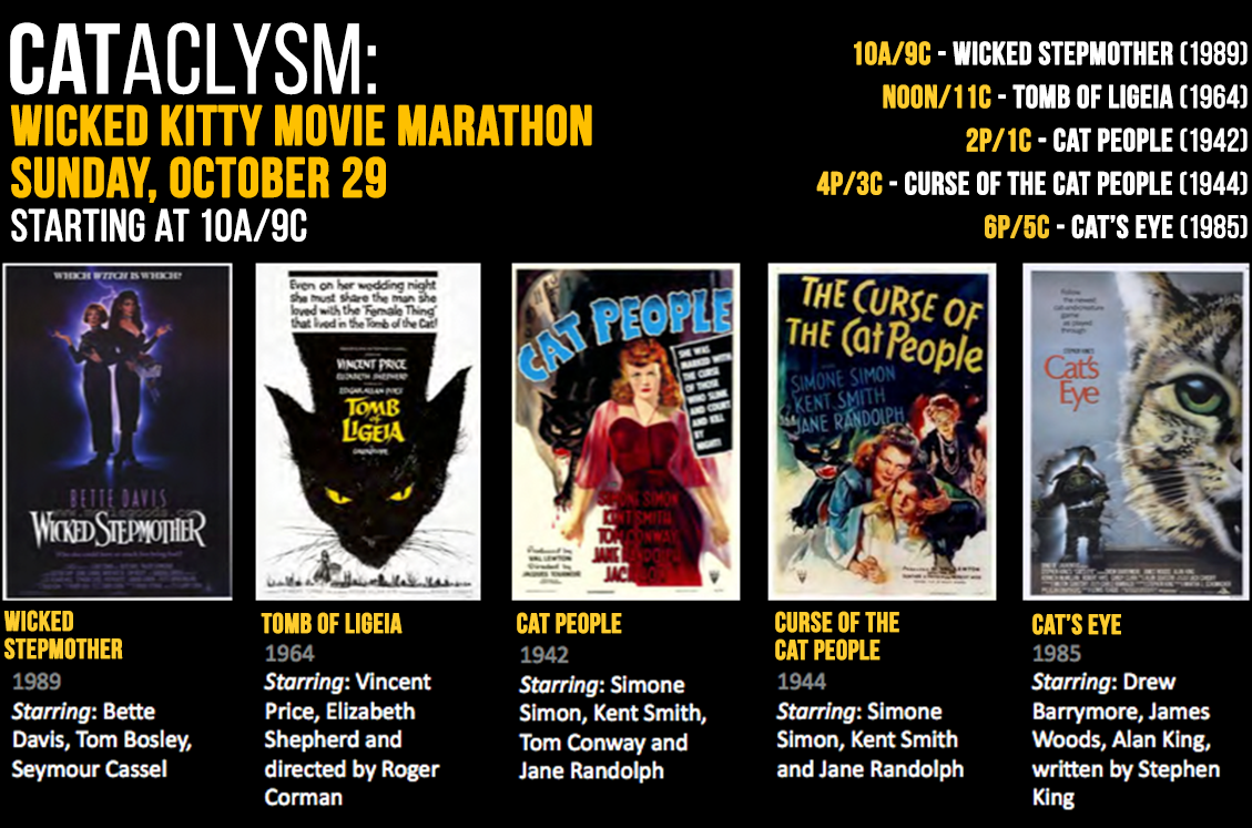 COMET TV CATaclysm: Wicked Kitty Movie Marathon