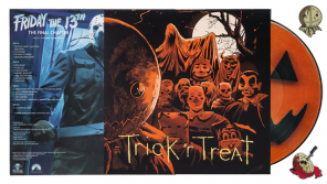 Waxwork Records Presents FRIDAY THE 13TH: THE FINAL CHAPTER and TRICK 'R TREAT Vinyl Soundtracks, plus Enamel Pins