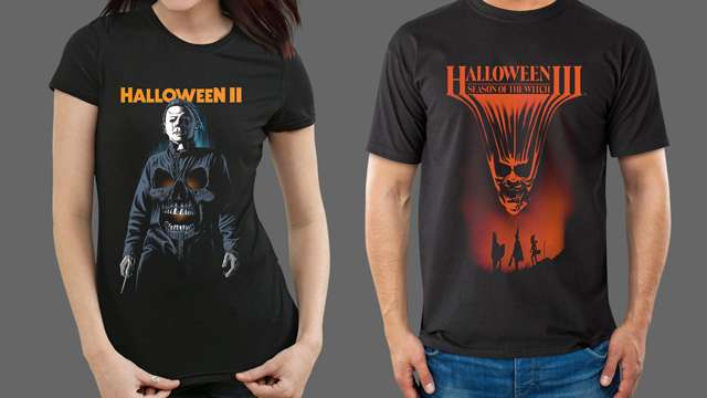 HALLOWEEN II and HALLOWEEN III: SEASON OF THE WITCH Merchandise from Fright-Rags