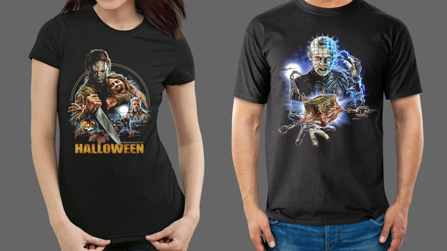 Rob Zombie's HALLOWEEN and HELLRAISER III: HELL ON EARTH Merchandise from Fright-Rags
