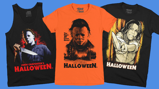 John Carpenter's Halloween T-Shirts from Terror Threads