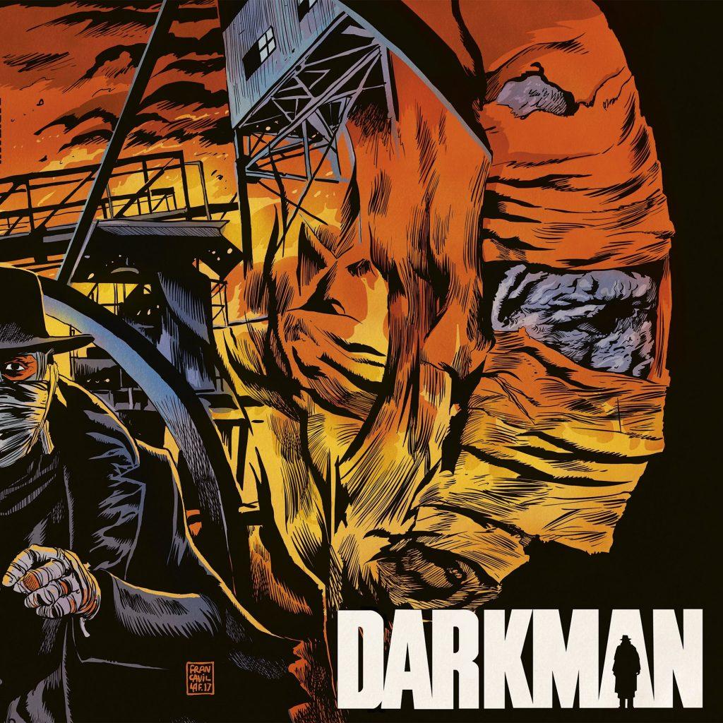 Waxwork Records Presents Darkman Vinyl Soundtracks
