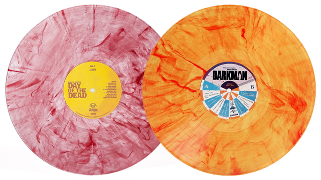 Waxwork Records Presents Darkman and Day of the Dead Vinyl Soundtracks