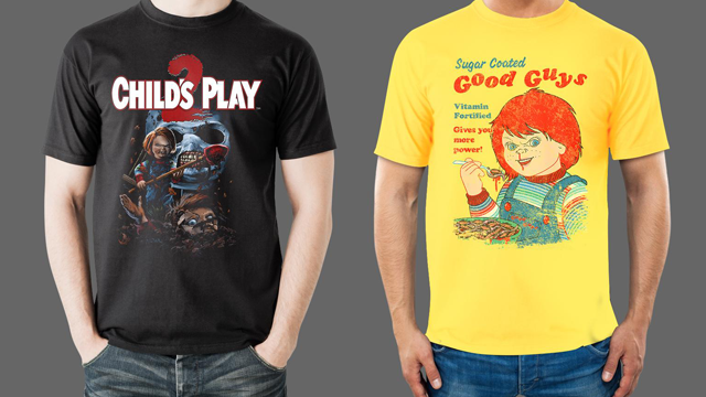 Sorry Jack, Chucky's Back! CHUCKY Collection Now Available from Fright-Rags