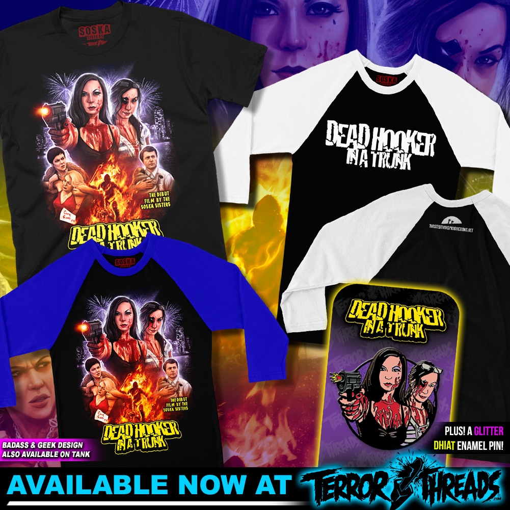 Women in Horror Month Kicks Off with DEAD HOOKER IN A TRUNK and THE TEXAS CHAINSAW MASSACRE Merchandise from Terror Threads