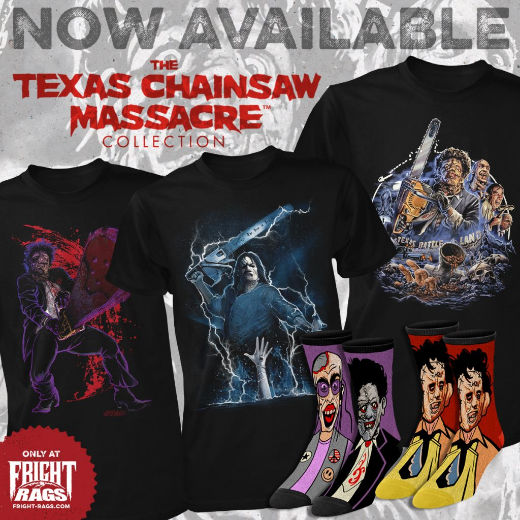 The Buzz is Back with Fright-Rags' THE TEXAS CHAINSAW MASSACRE Collection