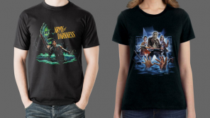 ARMY OF DARKNESS, THE STRANGERS: PREY AT NIGHT and HALLOWEEN III: SEASON OF THE WITCH Merchandise from Fright-Rags