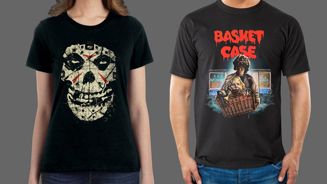 Beware Friday the 13th with Fright-Rags' THE MISFITS, BASKET CASE and MASTERS OF HORROR Apparel
