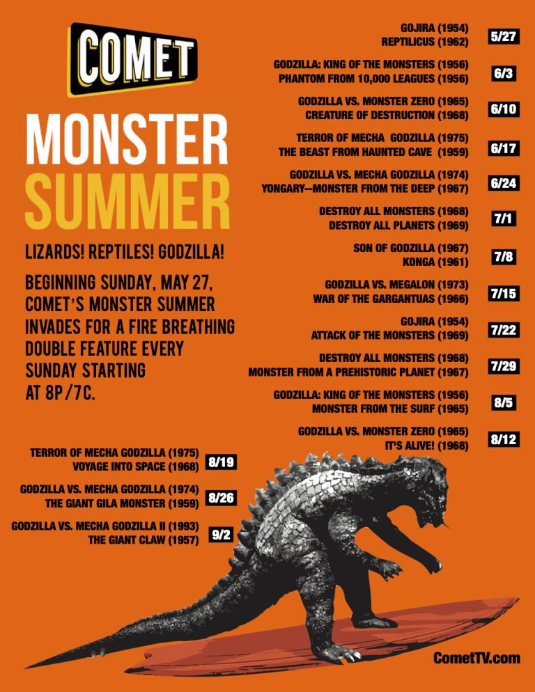 COMET TV: Monster Summer Giveaway