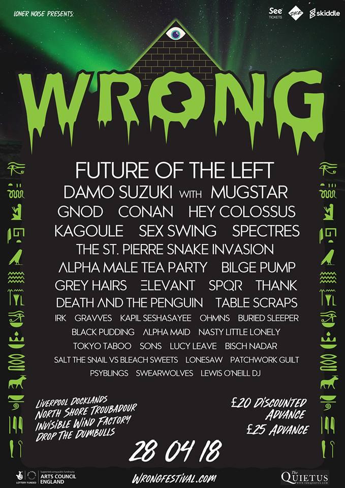 Wrong Festival 28/05/18