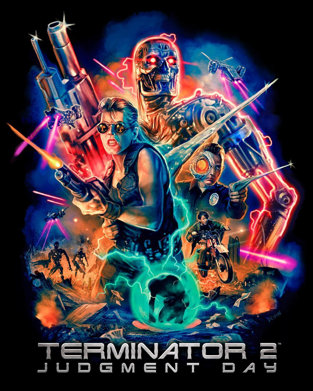 TERMINATOR 2: JUDGMENT DAY Collection: Part 1  Now Available from Cavity Colors