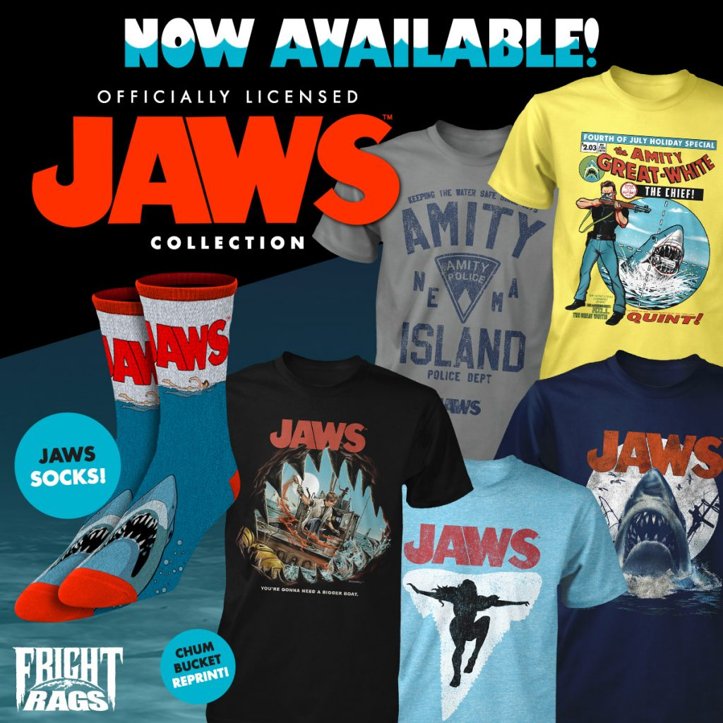Wanna Play? CHUCKY & JAWS Merchandise from Fright-Rags