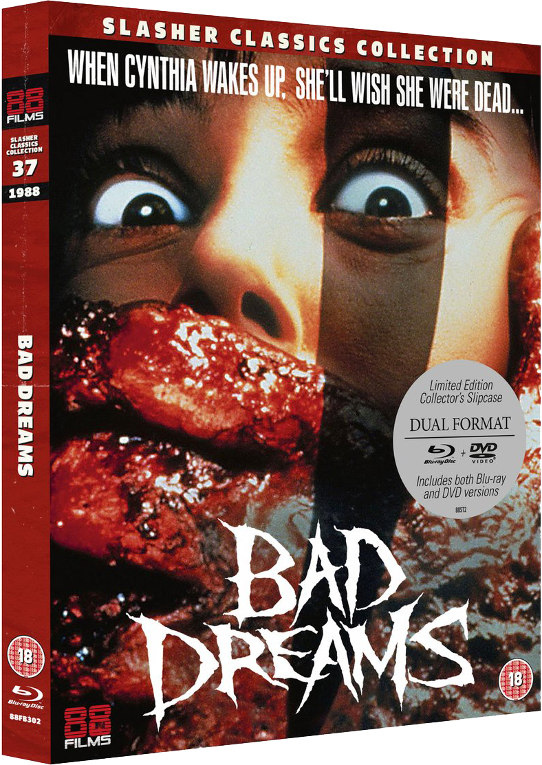 BAD DREAMS (Slasher Classics Collection) Available Now on Dual-Format Blu-ray & DVD from 88 Films