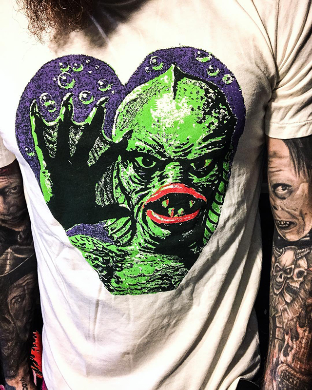 Valentine's Day ❤️ CREATURE FROM THE BLACK LAGOON Tee from Local Boogeyman