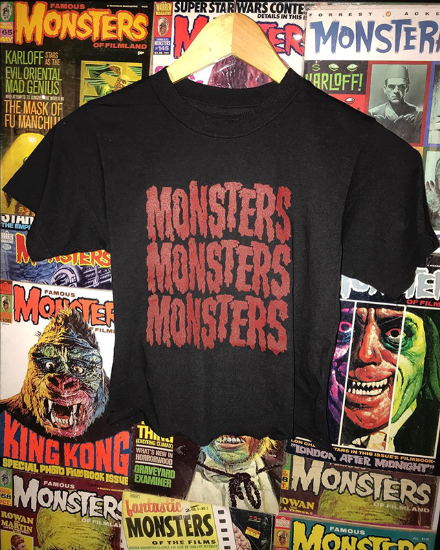 Local Boogeyman ✨ Vintage Washed Tees and Monsters Monsters Monsters Crops
