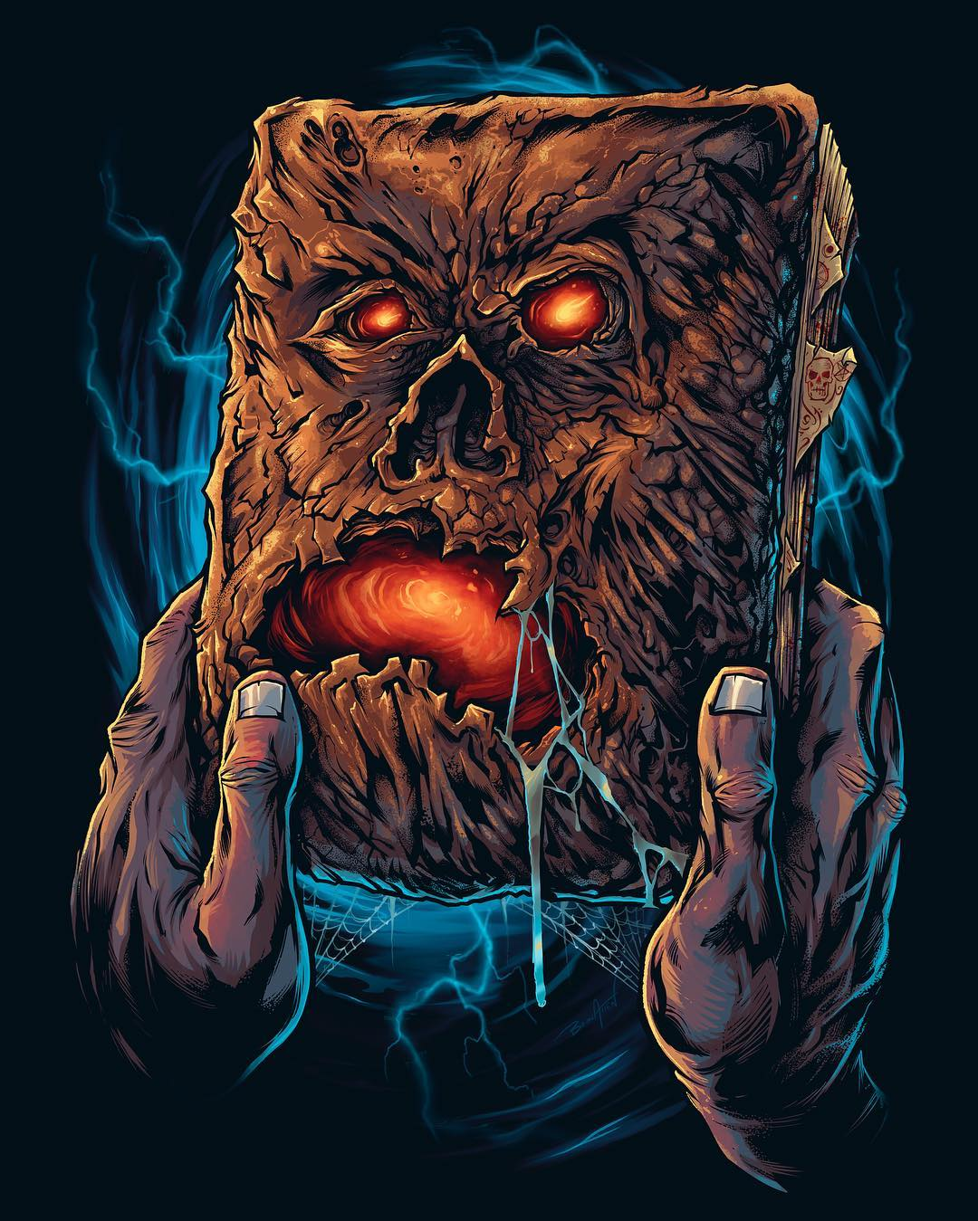 The Return of ASH!  EVIL DEAD 2 Collection Now Available from Cavity Colors
