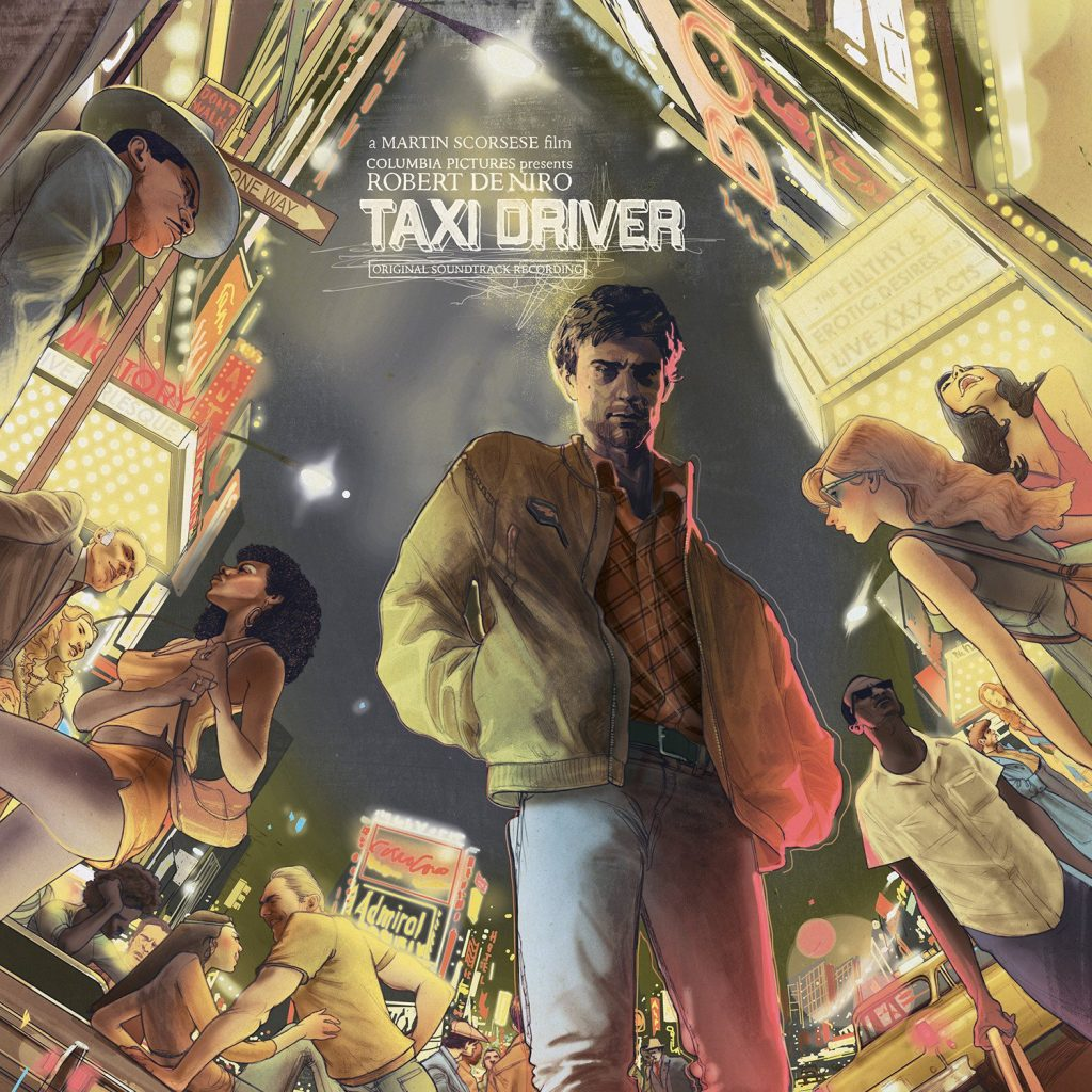 Waxwork Records Presents TAXI DRIVER Vinyl Soundtrack