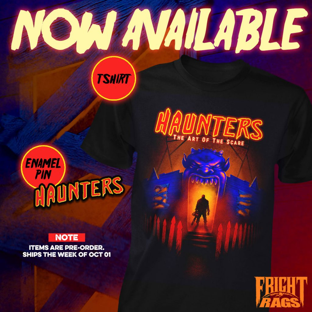 Fright-Rags' Halloween Season Apparel: TRICK 'R TREAT, GENERAL MILLS MONSTERS, STEPHEN KING & HAUNTERS: THE ART OF THE SCARE