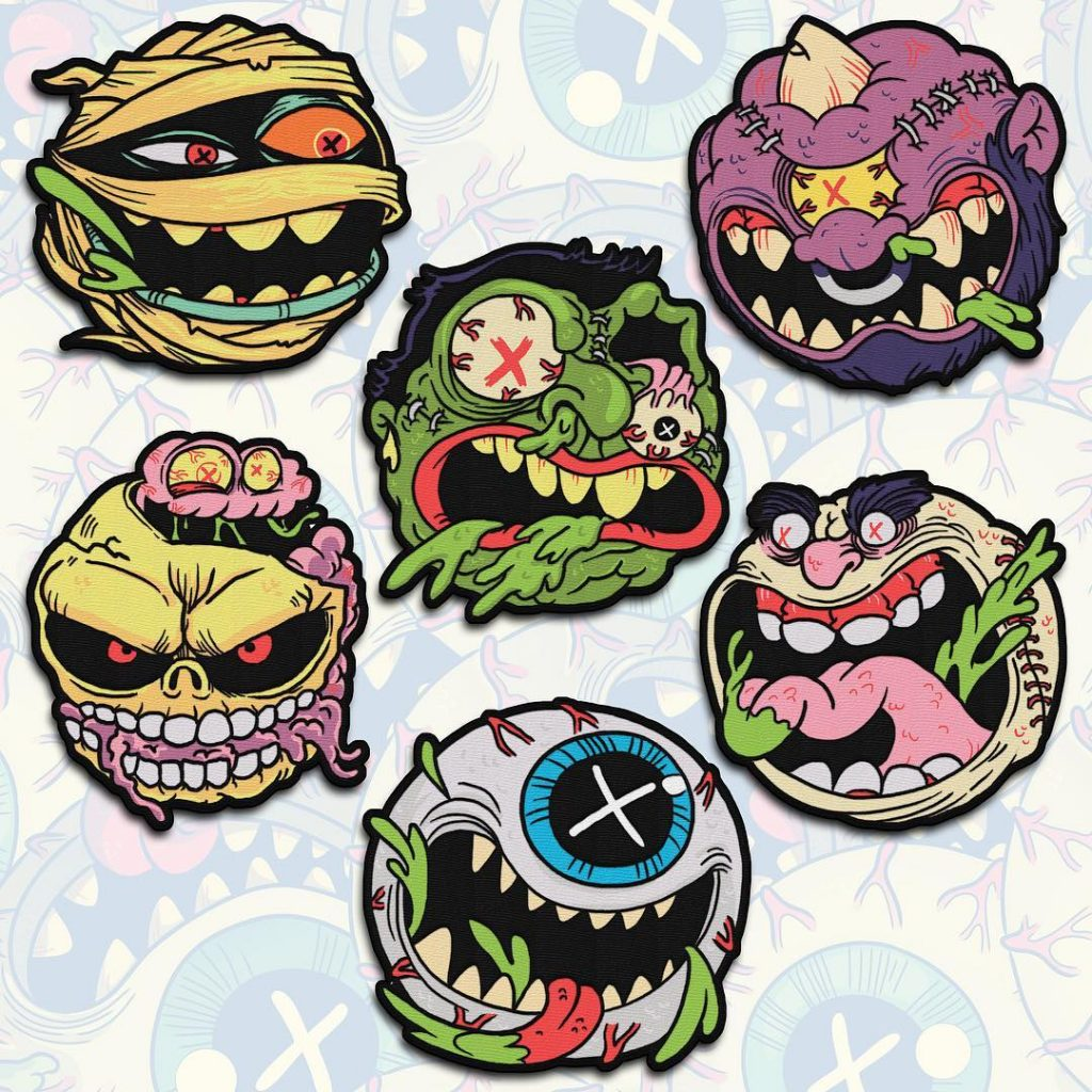 MADBALLS Patch Collection: Part 1 Now Available from Cavity Colors