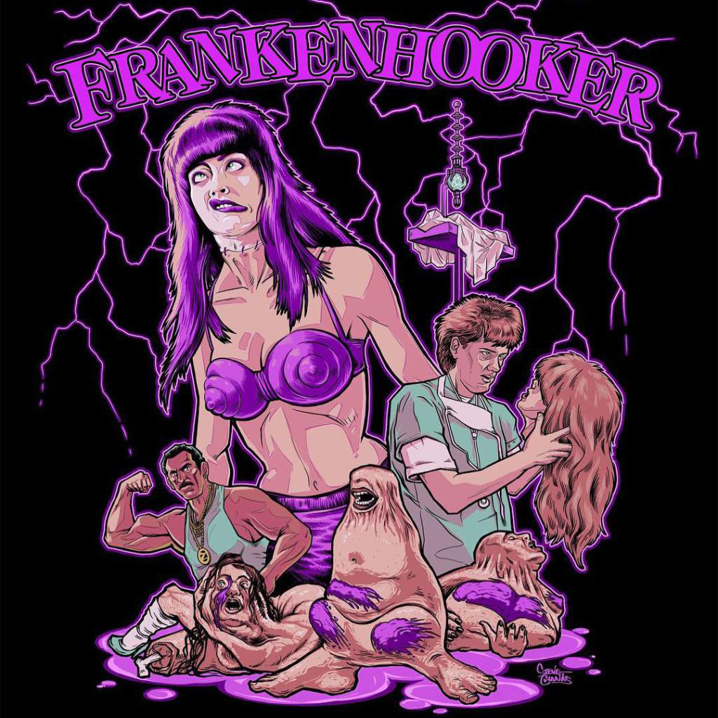 """Wanna Date?"" Official FRANKENHOOKER Collection from Gutter Garbs"
